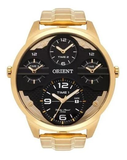 Relogio Orient Mas Sport Cronógrafo Mgsst002 P2kx Dourado