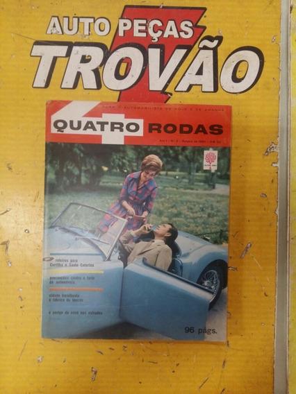 Revista Quatro Rodas Ano 1 N°3 Outubro De 1960