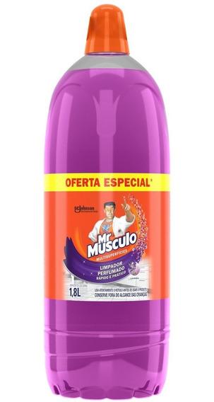 Limpador Mr Músculo Pisos Lavanda 1,8l Oferta Especial