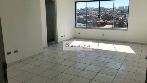 Sala Para Alugar, 27 M² Por R$ 650/mês - Jardim Do Mar - São Bernardo Do Campo/sp - Sa0273