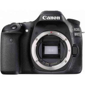 Câmera Canon 80d + 4 Lentes