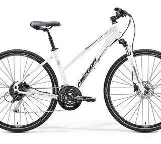 Bicicleta Merida Crossway 100 Lady 27v Shimano Hidraulico (4