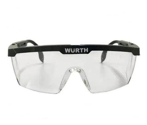 Óculos Transparente De Proteção Para Setor Hospitalar Wurth
