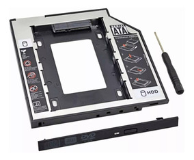 Case Sata 9,5mm Para Substituição De Drive De Dvd/cd De Note