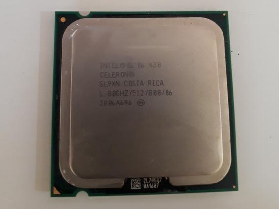 Processador Celeron 430 Sl9xn 1.80ghz 512kb Lga775