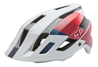 Capacete Bike Fox Racing Flux Drafter Cinza - Oficial