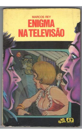 Livro Enigma Na Televisão - Marcos Rey - Infanto Juvenil