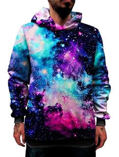 Blusa Sintética Bolso Lateral Galaxia Nebulosa Tumblr Galaxy