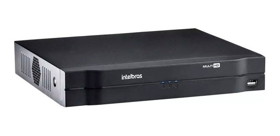 Dvr Video Stand Alone Intelbras Mhdx 1008 G3 P/ Cftv 8 Ch