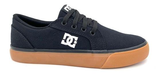 Tenis Dc Shoes Episo Preto Sola Caramelo 50.01.0041