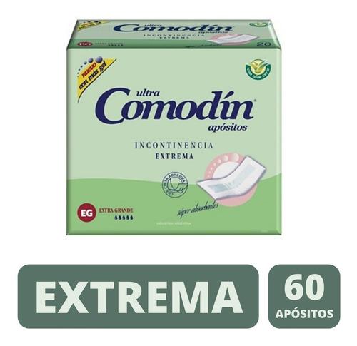 Imagen 1 de 3 de Comodin Aposito De Incontinencia Extrema X 60 Unidades