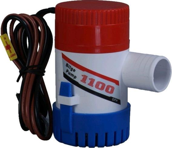 Bomba De Porão 1100 Gph 12v Motor Compacto E Selado Para Agua Doce Ou Salgada