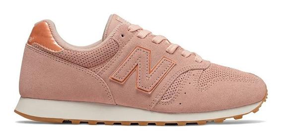 Tênis New Balance 373 Rosa Branco