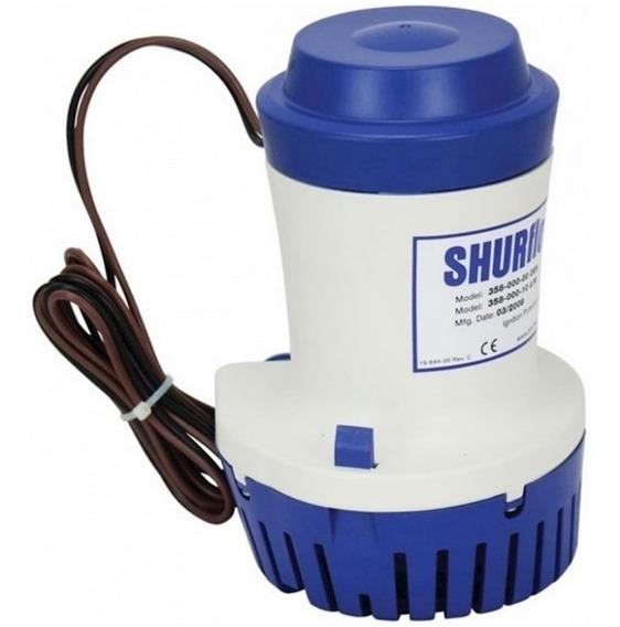 Bomba De Porão Submersível Shurflo 2000 Gph 12v