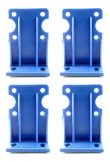 4 Soportes Para Carcasa 10 Pulgadas Repuesto Plástico
