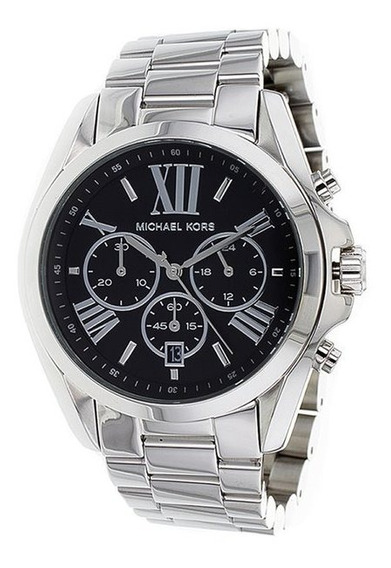 Relógio Michael Kors Mk5705 Bradshaw Prata - Caixa
