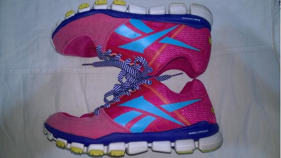 Zapatillas Reebok Dual Compound N°34.5-us4-plantilla 23cm-#1