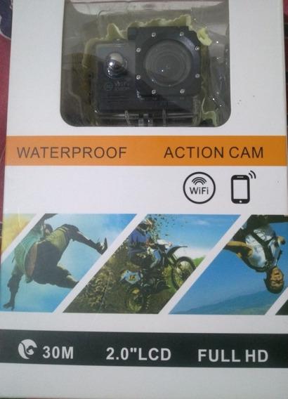 Câmera De Ação Waterproof Action Cam