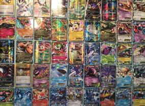 Tarjetas De Pokemon 100 Piezas Todas Brillosas Envío Express