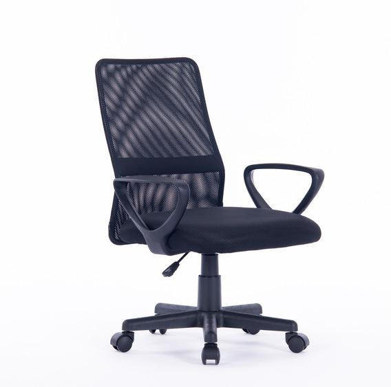 Cadeira Escritório Executiva Giratória Em Tela - Fury