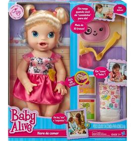 Boneca Baby Alive Hora De Comer Loira - Hasbro A7022