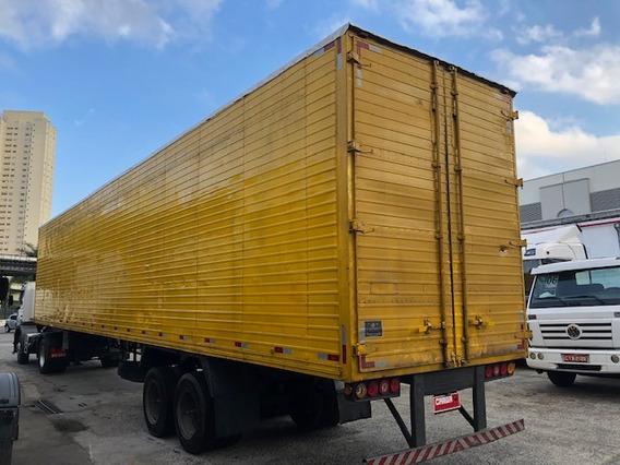 Carreta Bau C/pneu 2 Eixos 15,40 30pa Randon Fachini 3 Eixos