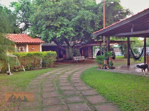 Imagem 1 de 17 de Chácara Com 5 Dormitórios À Venda, 1830 M² Por R$ 950.000,00 - Loteamento Chácaras Vale Das Garças - Campinas/sp - Ch0036