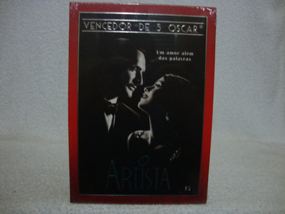 Dvd Original O Artista- Lacrado De Fábrica- Com Luva