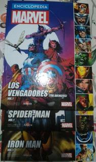 Enciclopedia Marvel (altaya) Tomo 1, 2 Y 3