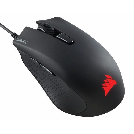 Mouse Gamer Corsair Harpoon Rgb 6000dpi Preto Ch-9301011-na