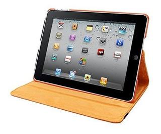 Natico iPad Mini Iv 360 Caso Sintetica Naranja 60im4 360o