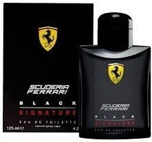 Perfume Scuderia Ferrari Black Signature - Original - 125m