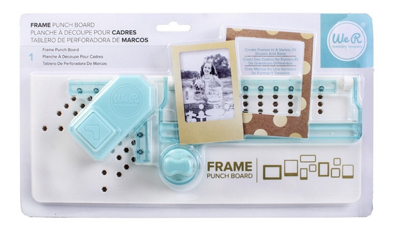 Scrapbook We R Frame Punch Board - Tabla Para Hacer Marcos