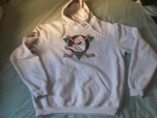 Lindo Moletom Forrado Anaheim Ducks Com Capuz