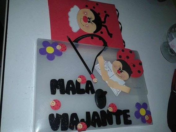 Kit Maleta E Caderno Escolar