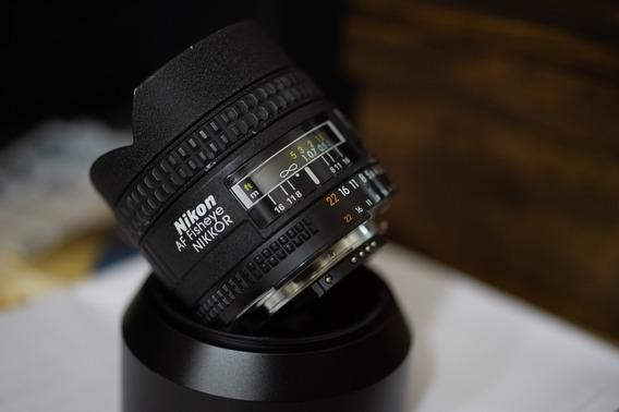 Nikon 16mm 2.8d 2.8 Fisheye P/ D610 D750 D800 D810 Etc