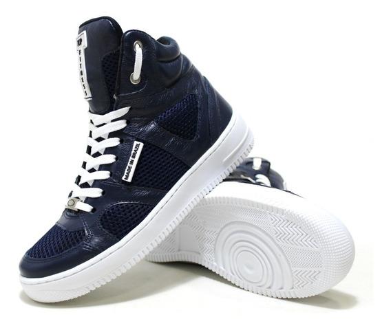 Tenis Sneakers Botinha Masculino Feminino Topfitness Emcouro