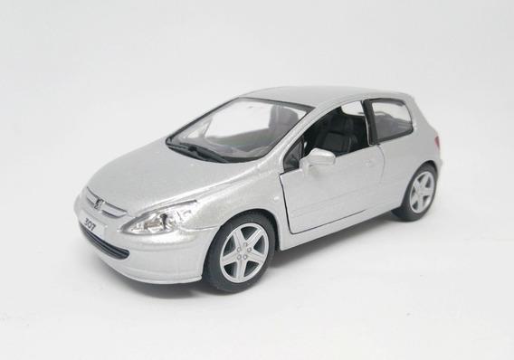 Peugeot 307 Xsi Miniatura Ano - 2001 Escala 1/32 Detalhada