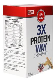 3x Way Protein 300g Midway Lançamento - Baunilha