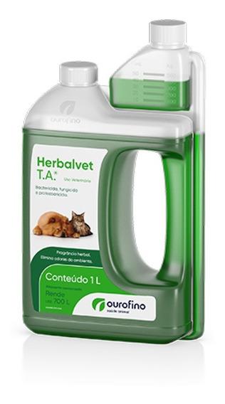 Promoção Herbalvet Higienizador De Ambientes 1l Ouro Fino