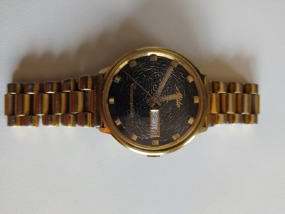 Relógio Mido Commander Ocean Star Original, Fundo Preto
