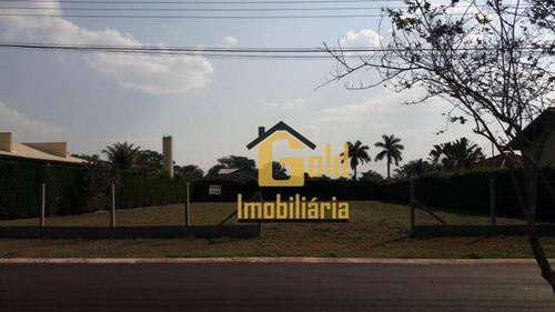 Lote Em Condomínio Com 1.400 M² Para Venda Por R$350.000,00/- Village Bandeirante 1 - Jardinópolis Sp - Te0142