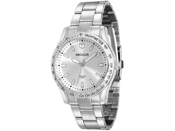 Relógio Feminino Seculus Prateado 25541l0svna2