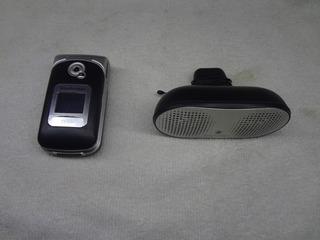 Sony Ericsson Z530i Celular Y Bocina Retro