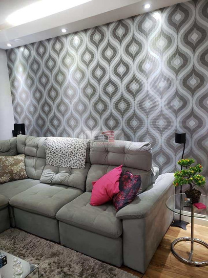 Apartamento Com 2 Dorms, Jordanópolis, São Bernardo Do Campo - R$ 235 Mil, Cod: 421 - V421