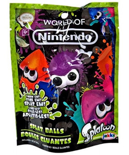 Splatoon World Of Nintendo Series 1-1 Splat Balls - Un Ca