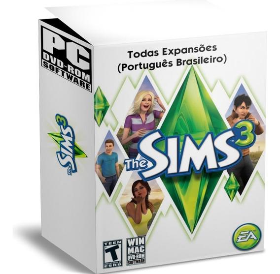 The Sims 3 Pacote Completo - Todas Expansões - Português Pc