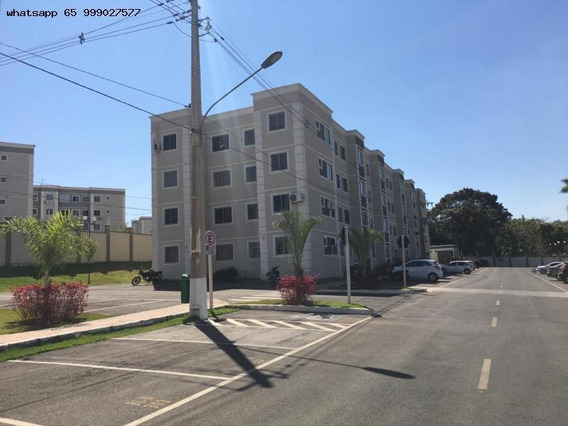 Apartamento Para Venda Em Várzea Grande, Nova Várzea Grande, 2 Dormitórios, 1 Banheiro, 1 Vaga - 111_1-1247608