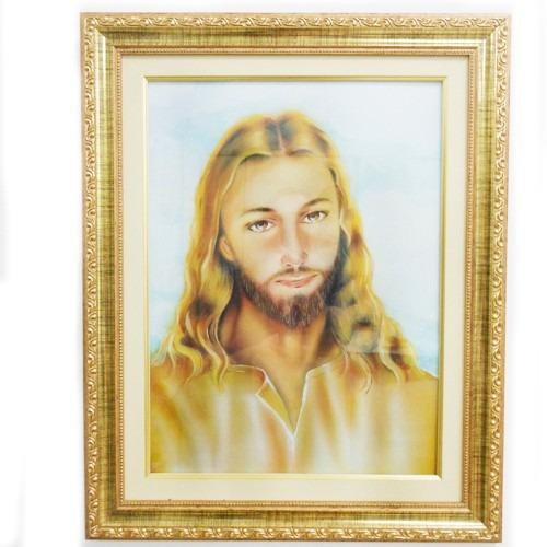 Quadro Face De Jesus - Quadro Decoração Jesus
