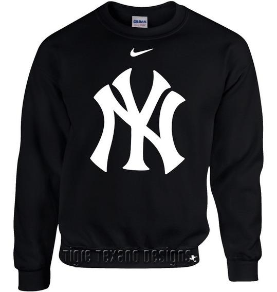 Sudadera Básica Yankees Nueva York Mod. P ( Tigre Texano D.)